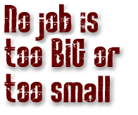 No job is too big or too small for Stellar Contracting in Kitimat